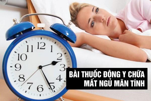 bài thuốc đông y chữa mất ngủ mãn tính