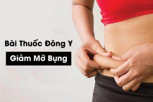 bài thuốc đông y giảm mỡ bụng
