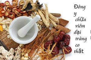 Chữa viêm đại tràng bằng thuốc Đông Y
