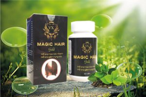 magic hair gold giúp mọc tóc nhanh, chống hói đầu, tóc bạc sớm