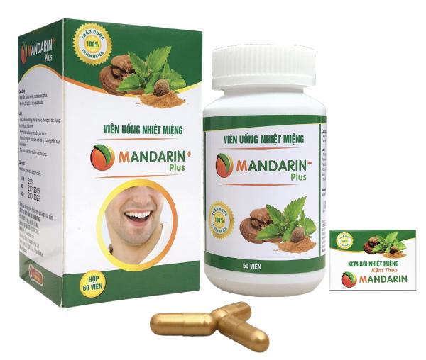 Thuốc Chữa Nhiệt Miệng Mandarin Plus