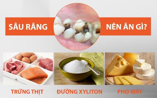 sâu răng nên ăn gì