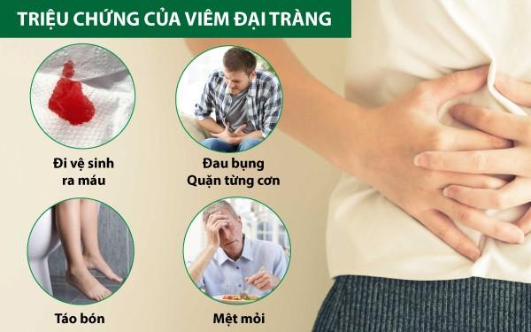 triệu chứng viêm đại tràng