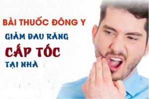 Bài thuốc đông y chữa đau răng